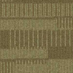 Interfaceflor Duet Kiwi carpet tile